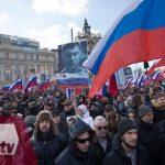 protesta en Moscu