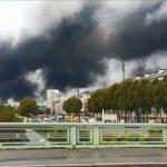 Incendio en Planta qumica en Francia