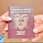 pasaporte de Ecuardor