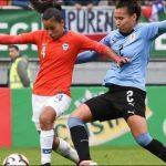 La Roja Femenina antes Uruguay