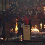 noche de protesta